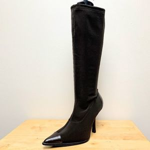 Chinese Laundry Salvador Black Knee Boot Pointy